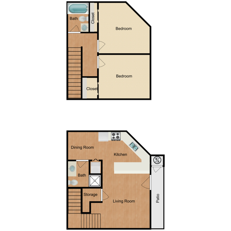 Floor plan image of Plan D3