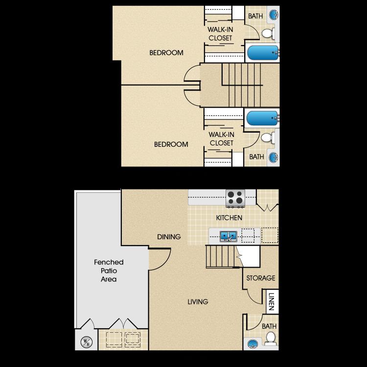 Plan A3 floor plan image