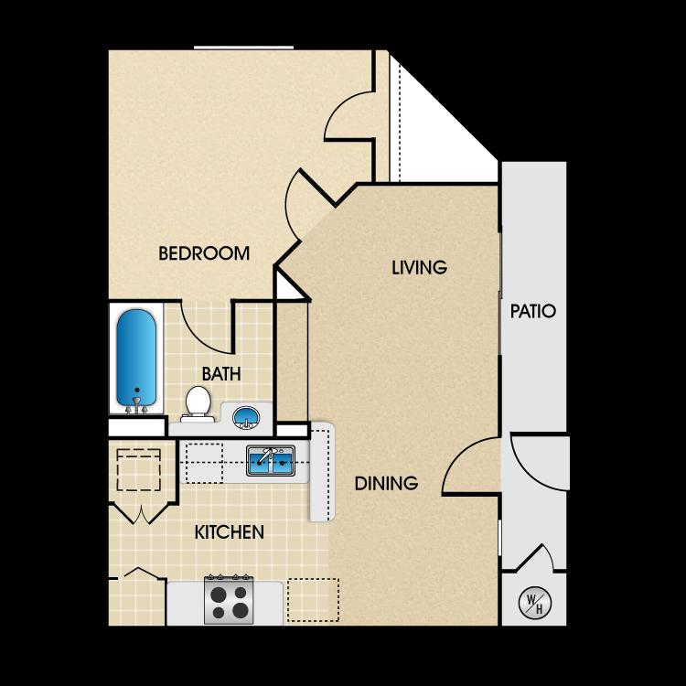 Plan C3 floor plan image