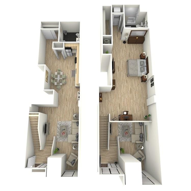 Floor plan image of Plan 20