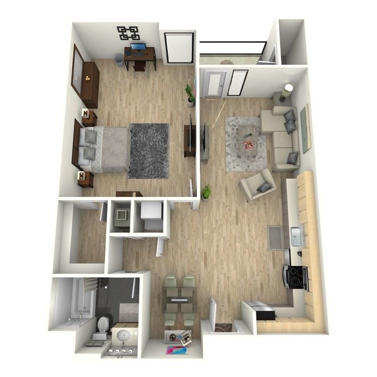 Floor plan image of Plan 15
