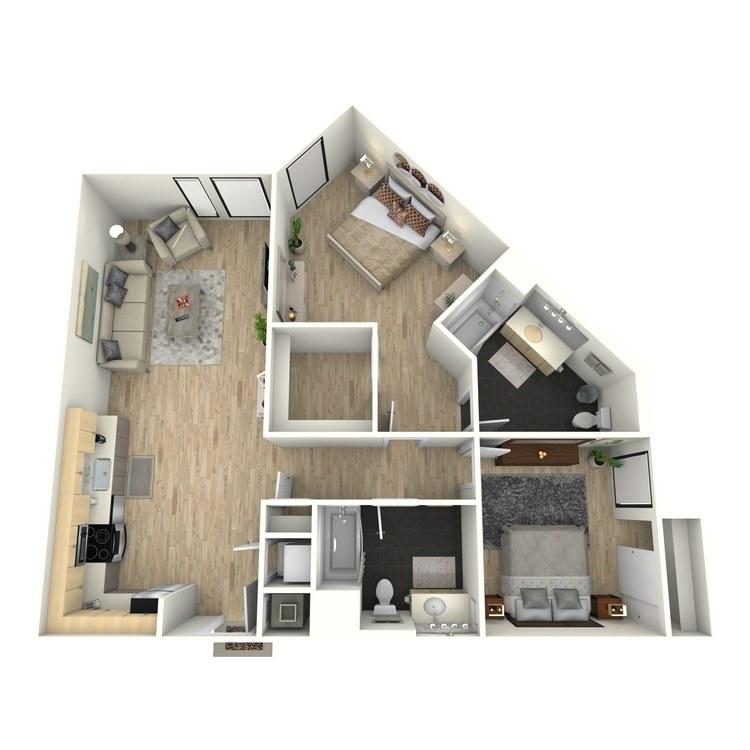 Floor plan image of Plan 27