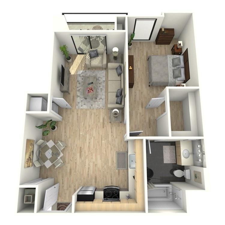 Floor plan image of Plan 14