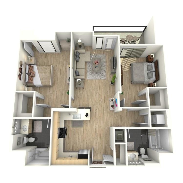 Floor plan image of Plan 26