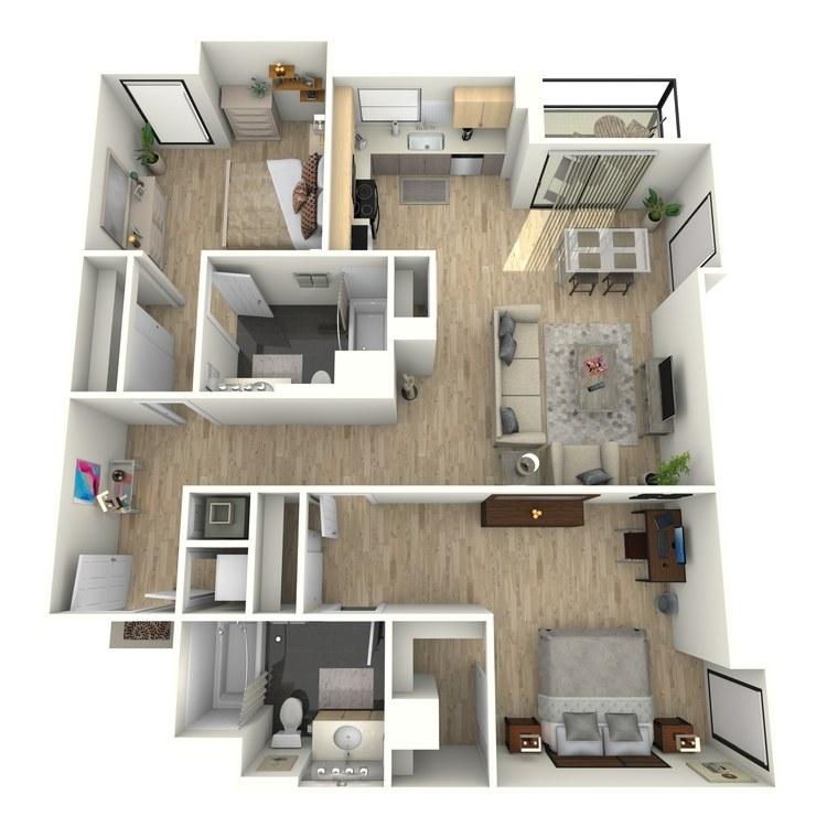 Floor plan image of Plan 29