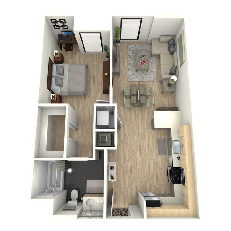 Floor plan image of Plan 7