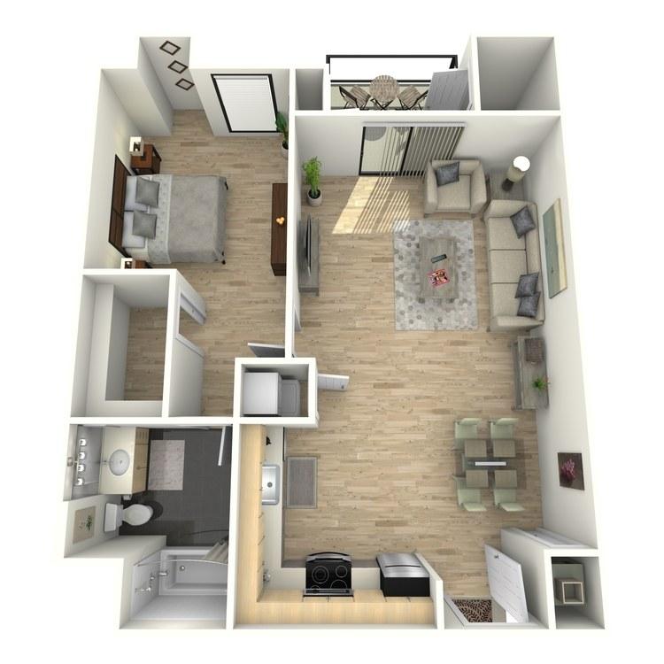 Floor plan image of Plan 17