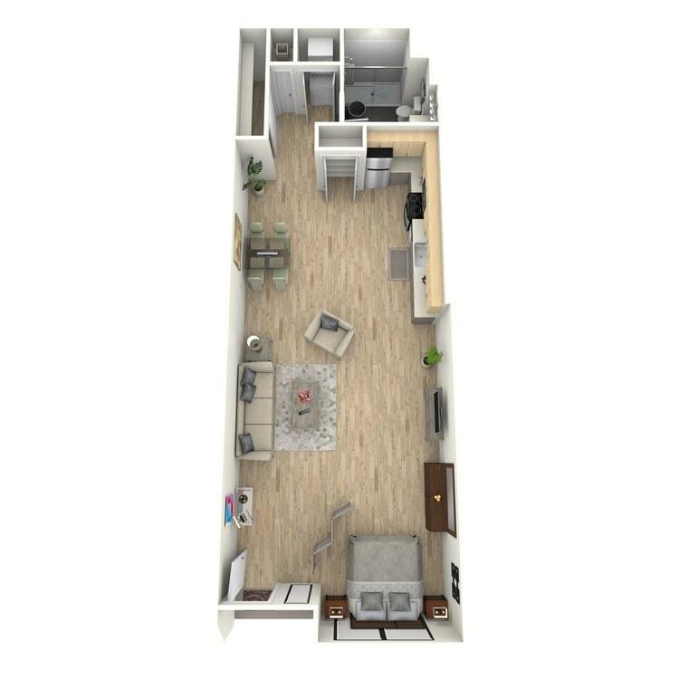 Floor plan image of Plan 5