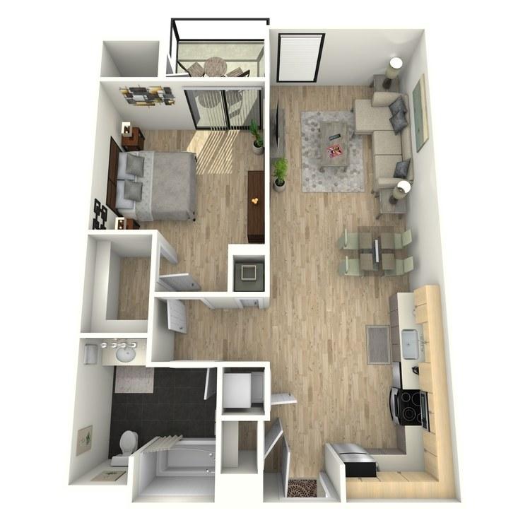 Floor plan image of Plan 16