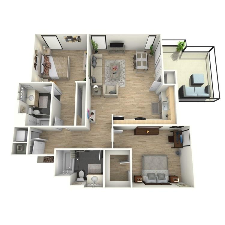 Floor plan image of Plan 28