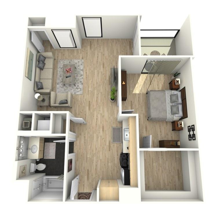 Floor plan image of Plan 18