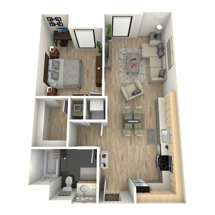 Floor plan image of Plan 8