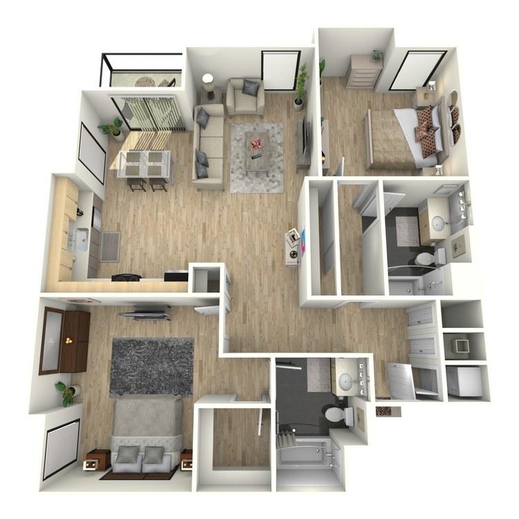 Floor plan image of Plan 30