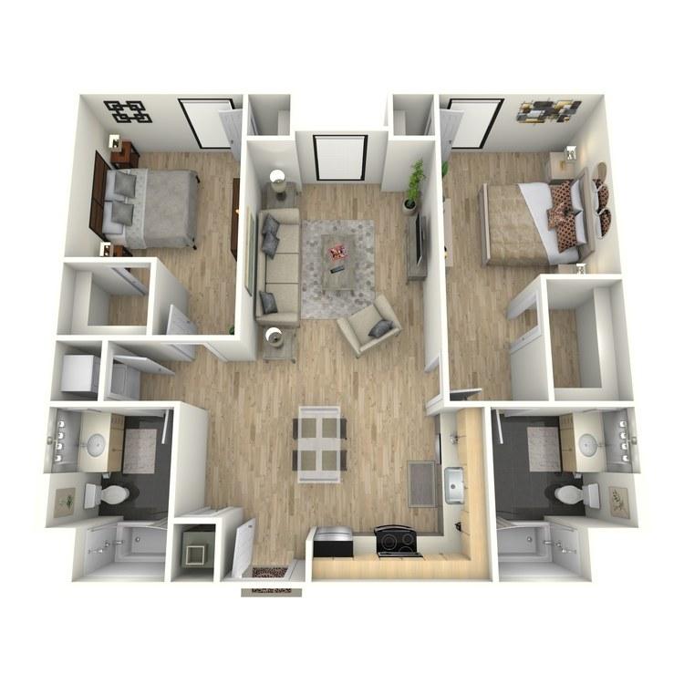 Floor plan image of Plan 25