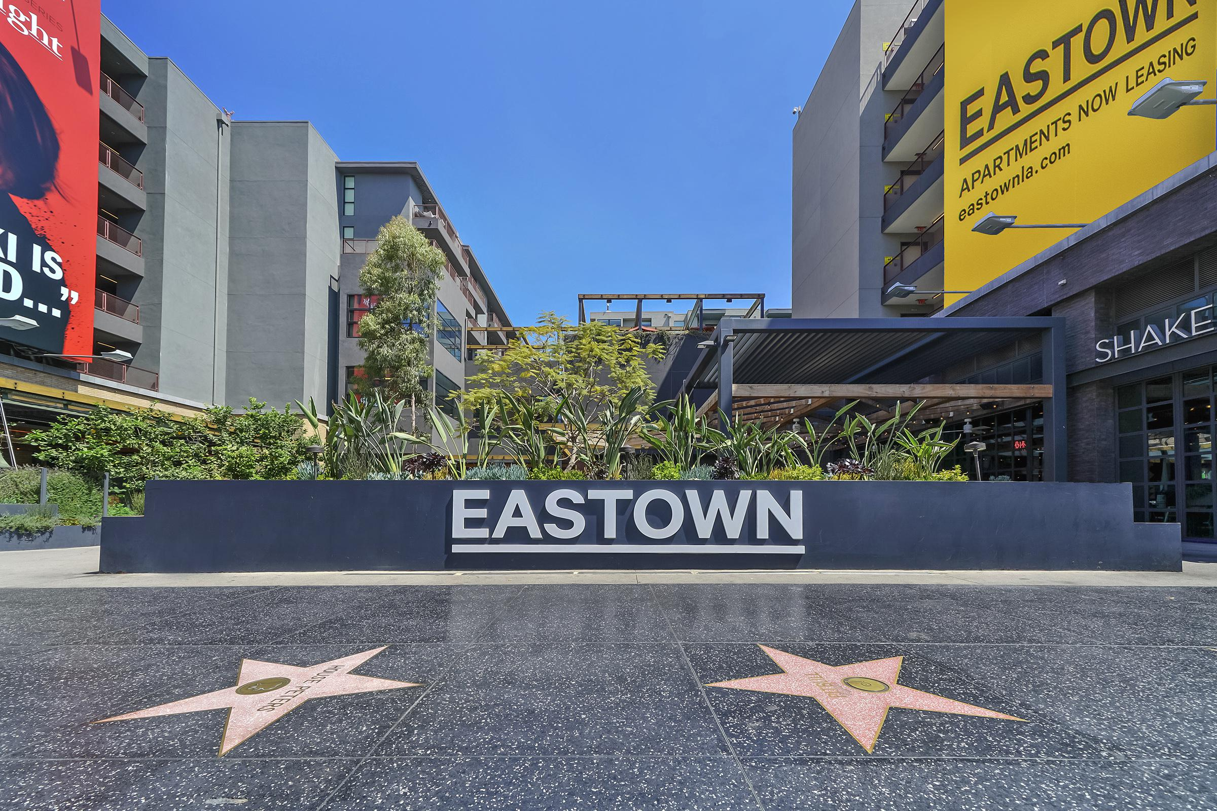Eastown monument sign
