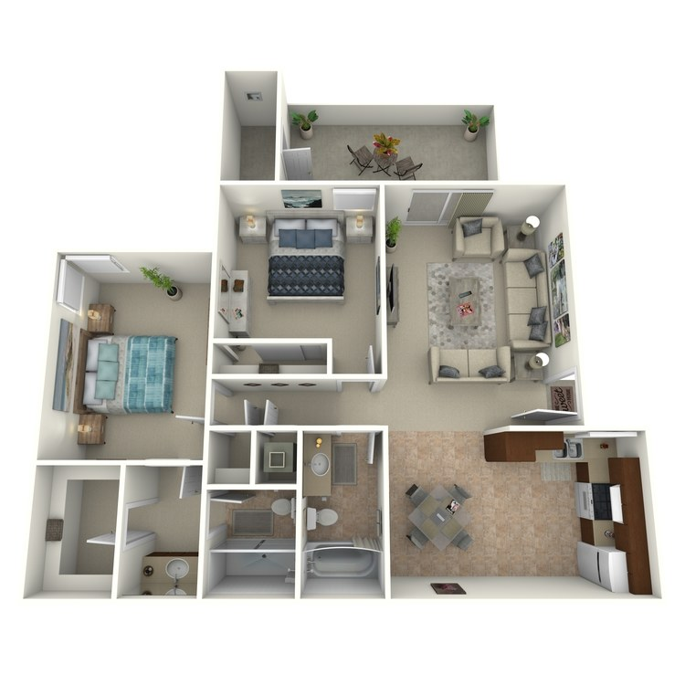 Floor plan image of Sunrise - Classic