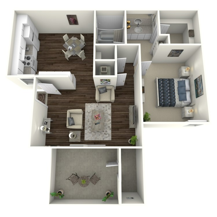 Floor plan image of Skyline - Modern