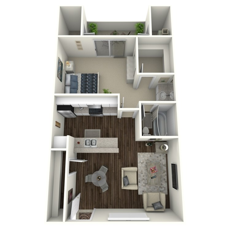 Floor plan image of Vista - Modern