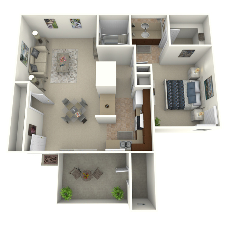 Floor plan image of Horizon - Classic