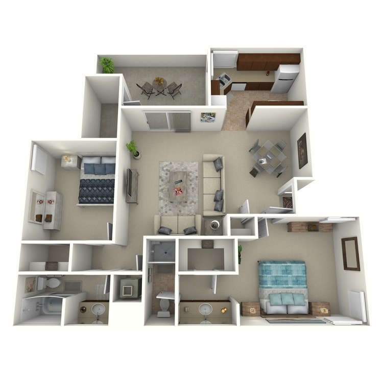 Floor plan image of Sunset - Classic