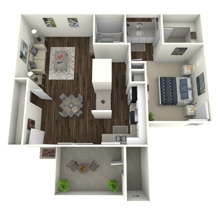 Floor plan image of Horizon - Modern