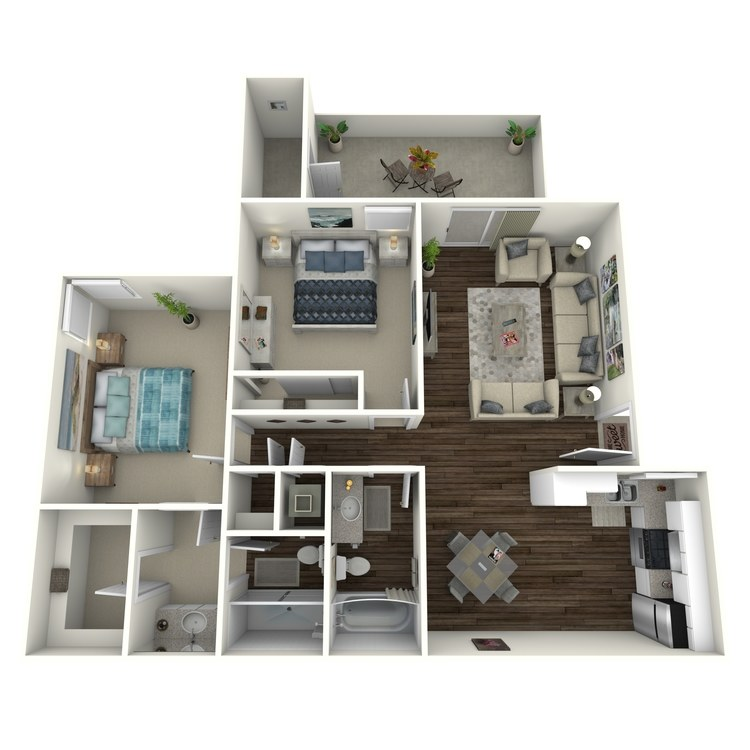 Floor plan image of Sunrise - Modern
