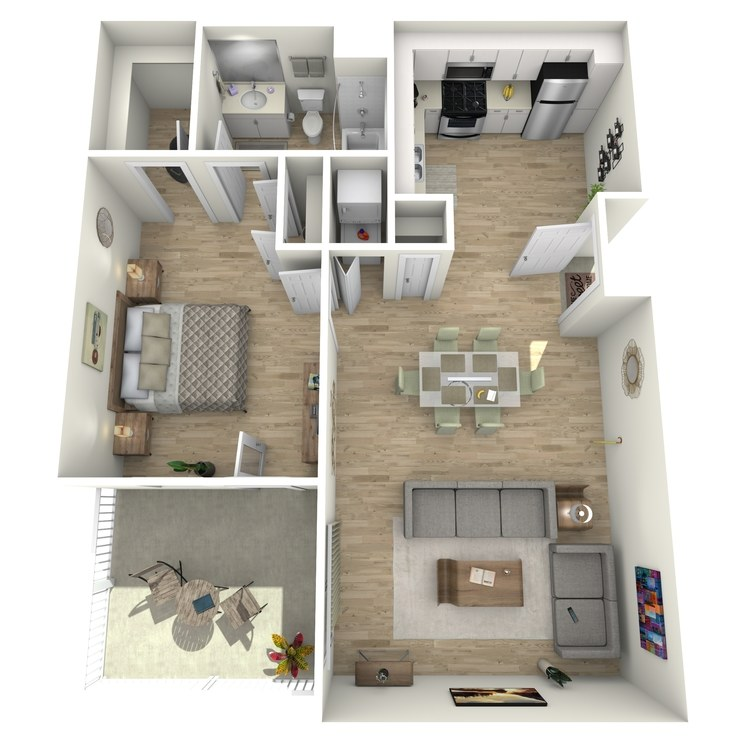 Floor plan image of Plan 3