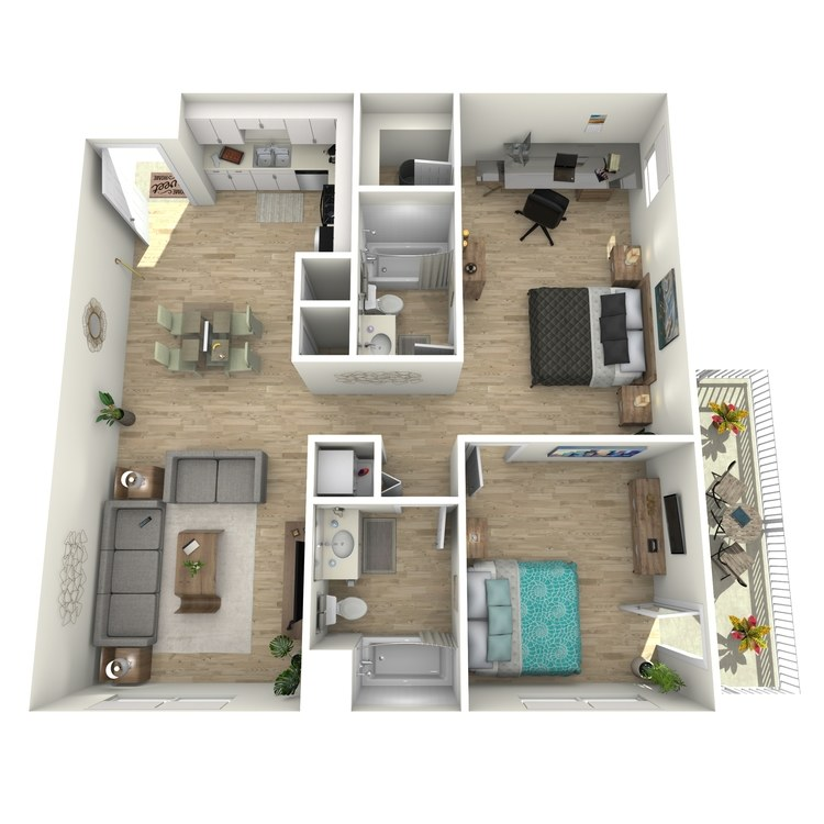 Floor plan image of Plan 11