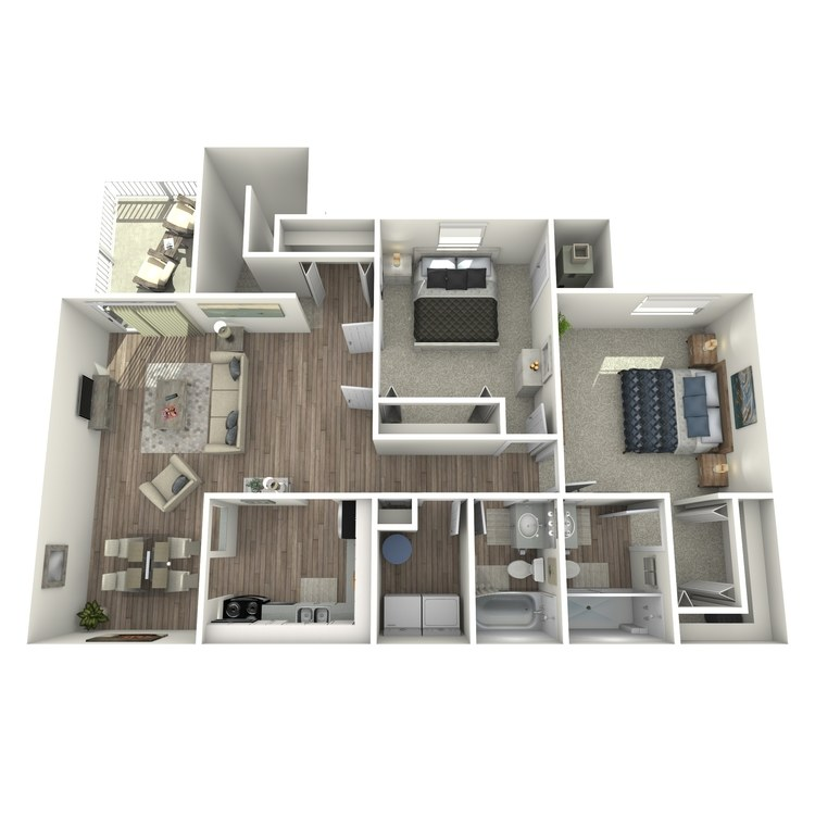Floor plan image of B4