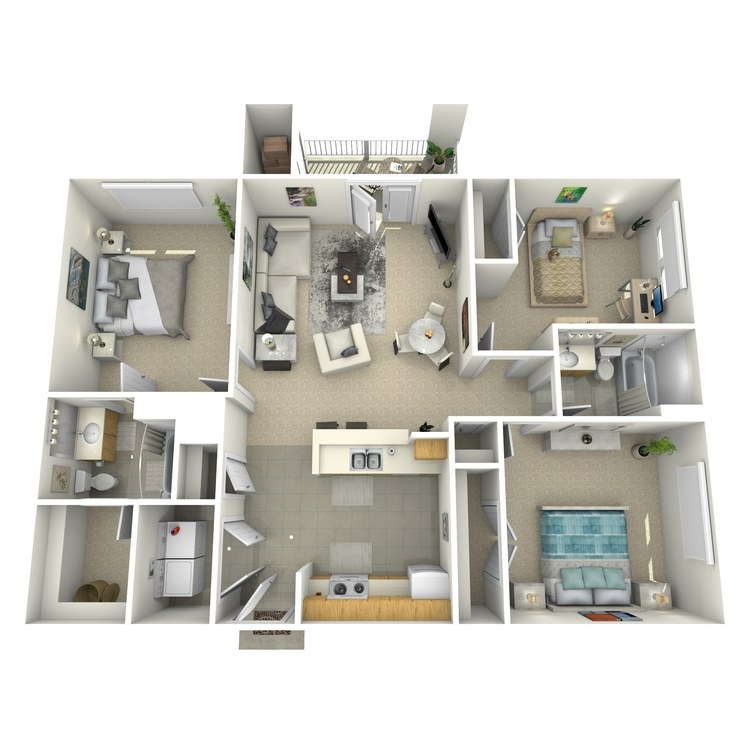 Floor plan image of Calabash