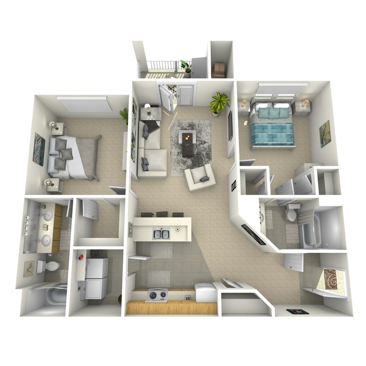 Floor plan image of Bradley