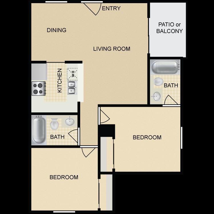 Floor plan image of Plan D