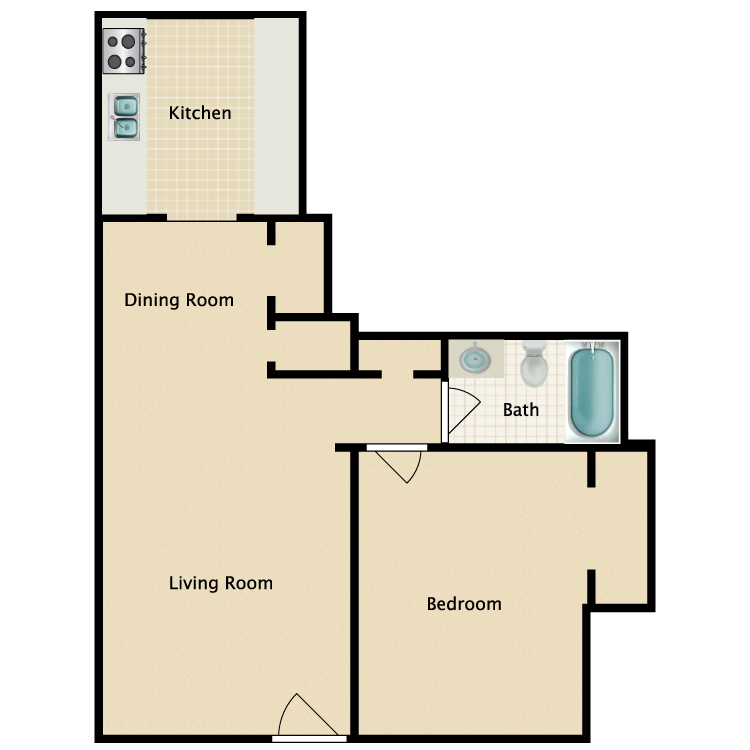 Floor plan image of Old Hickory