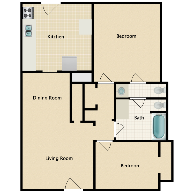 Floor plan image of Rachel Jackson