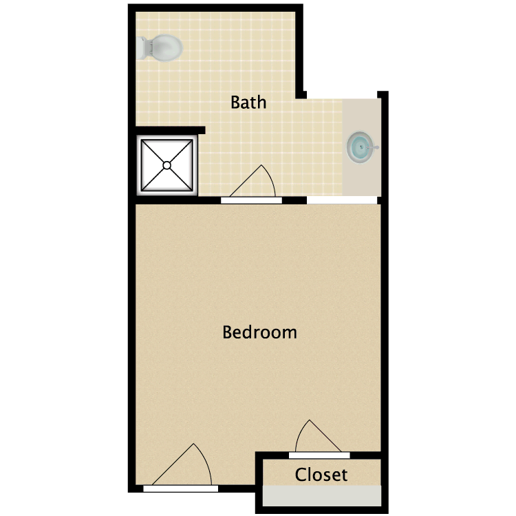 Floor plan image of Private C