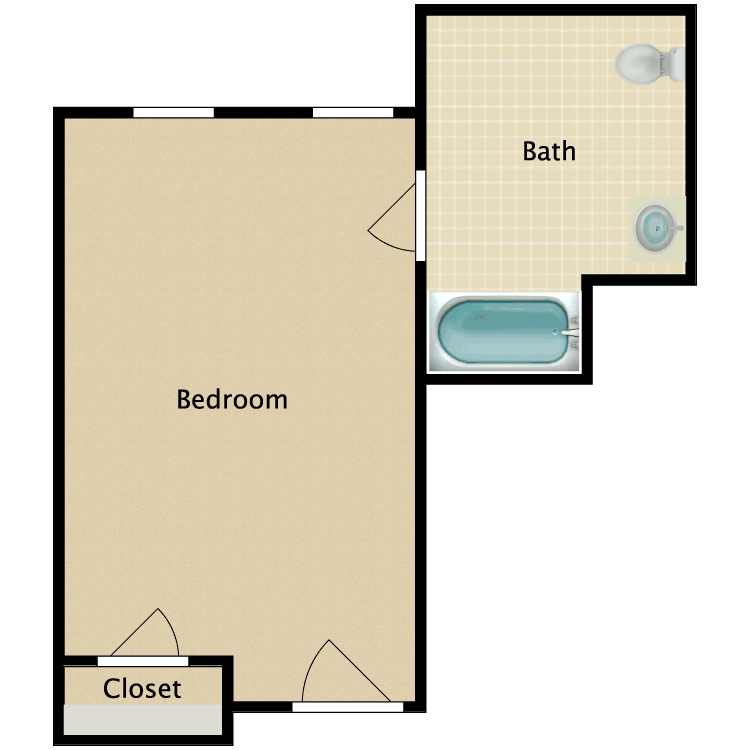 Floor plan image of Private D