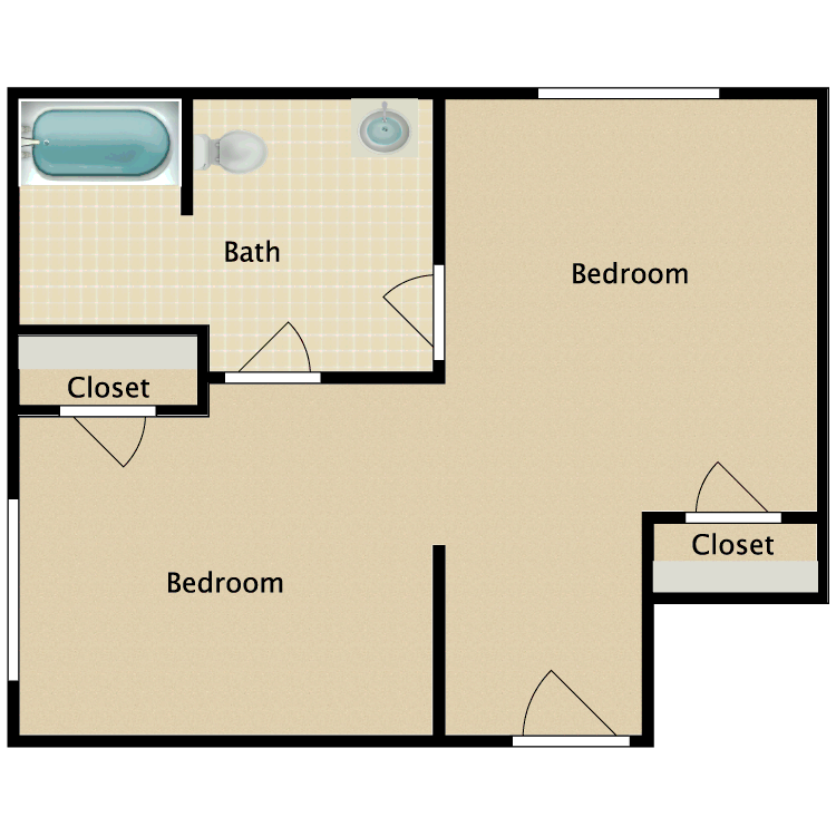 Floor plan image of Shared A