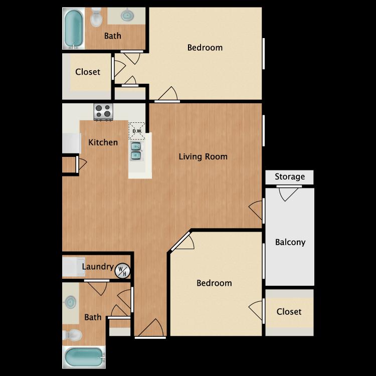 Floor plan image of The Magnolia