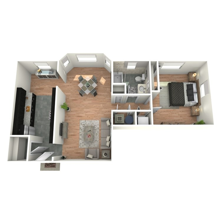 Floor plan image of Tudors A3AT