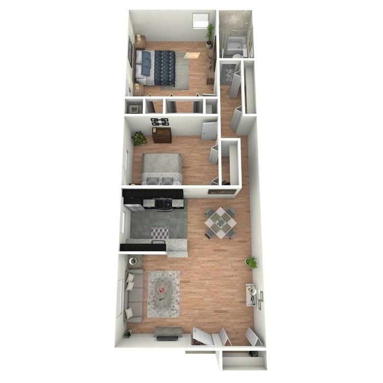 Floor plan image of Gardens B1BG