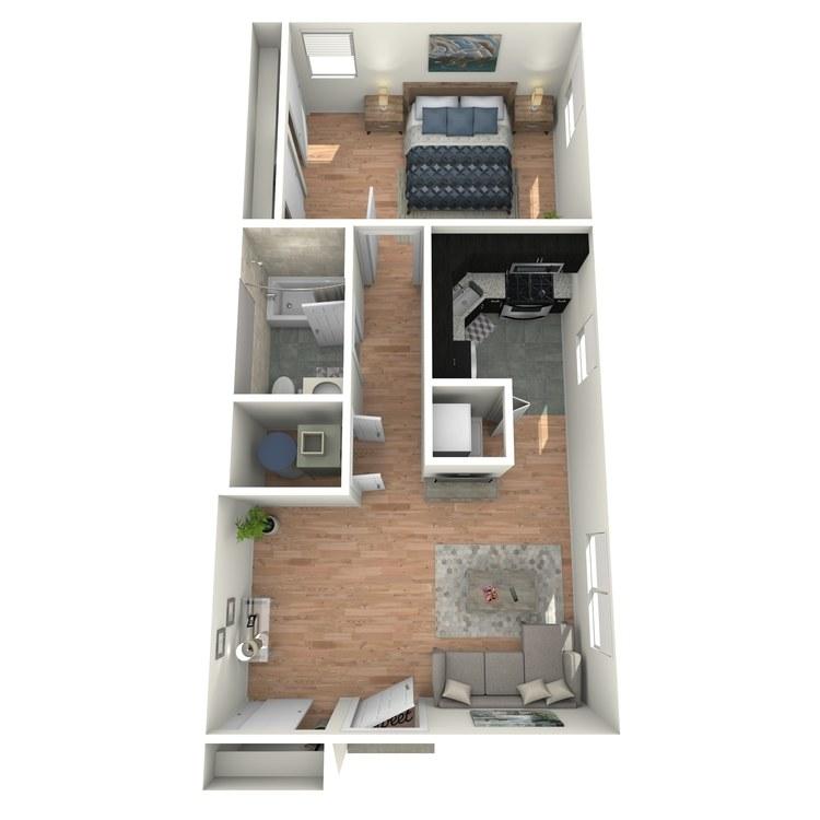 Floor plan image of Fairmount A1A
