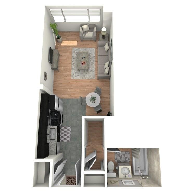 Floor plan image of Vue STA