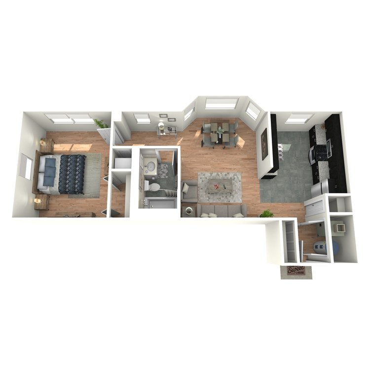 Floor plan image of Tudors A2AT