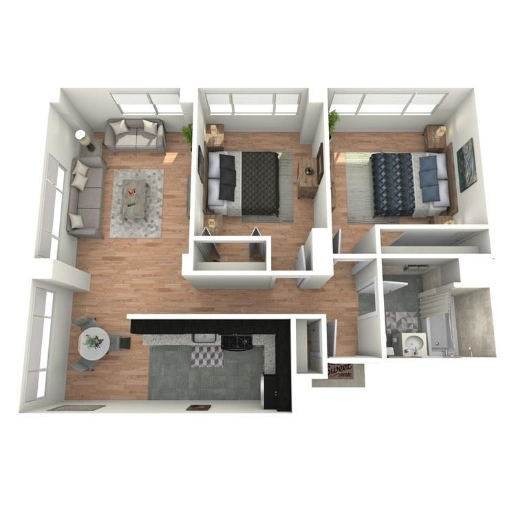 Floor plan image of Vue B1A