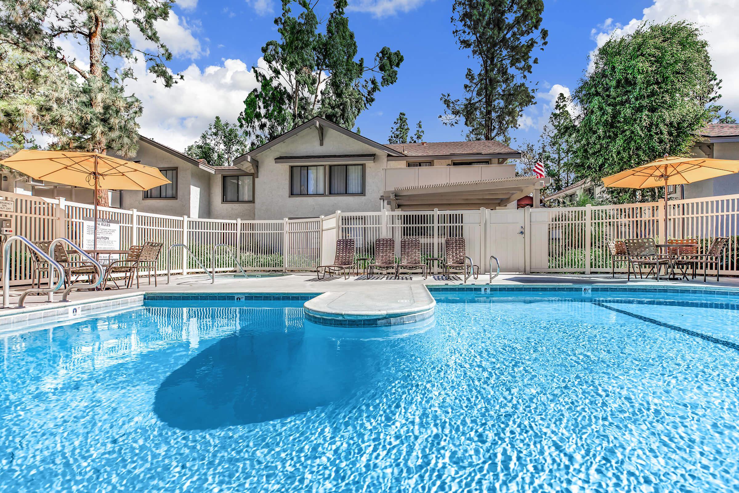 Park City Apartment Homes community pool