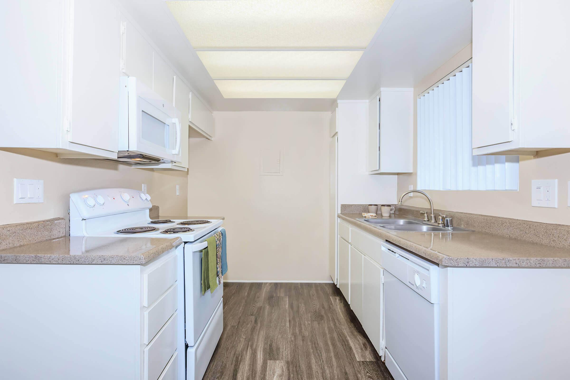 Vacant kitchen