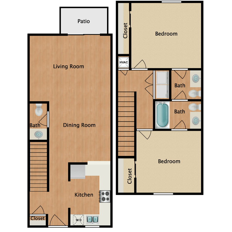 Floor plan image of Olympian