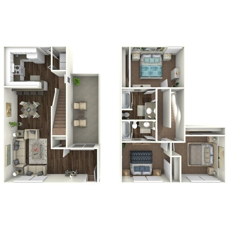 Floor plan image of C2