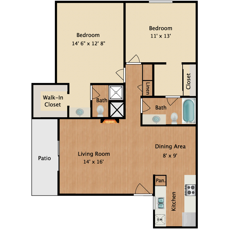 Floor plan image of Matisse