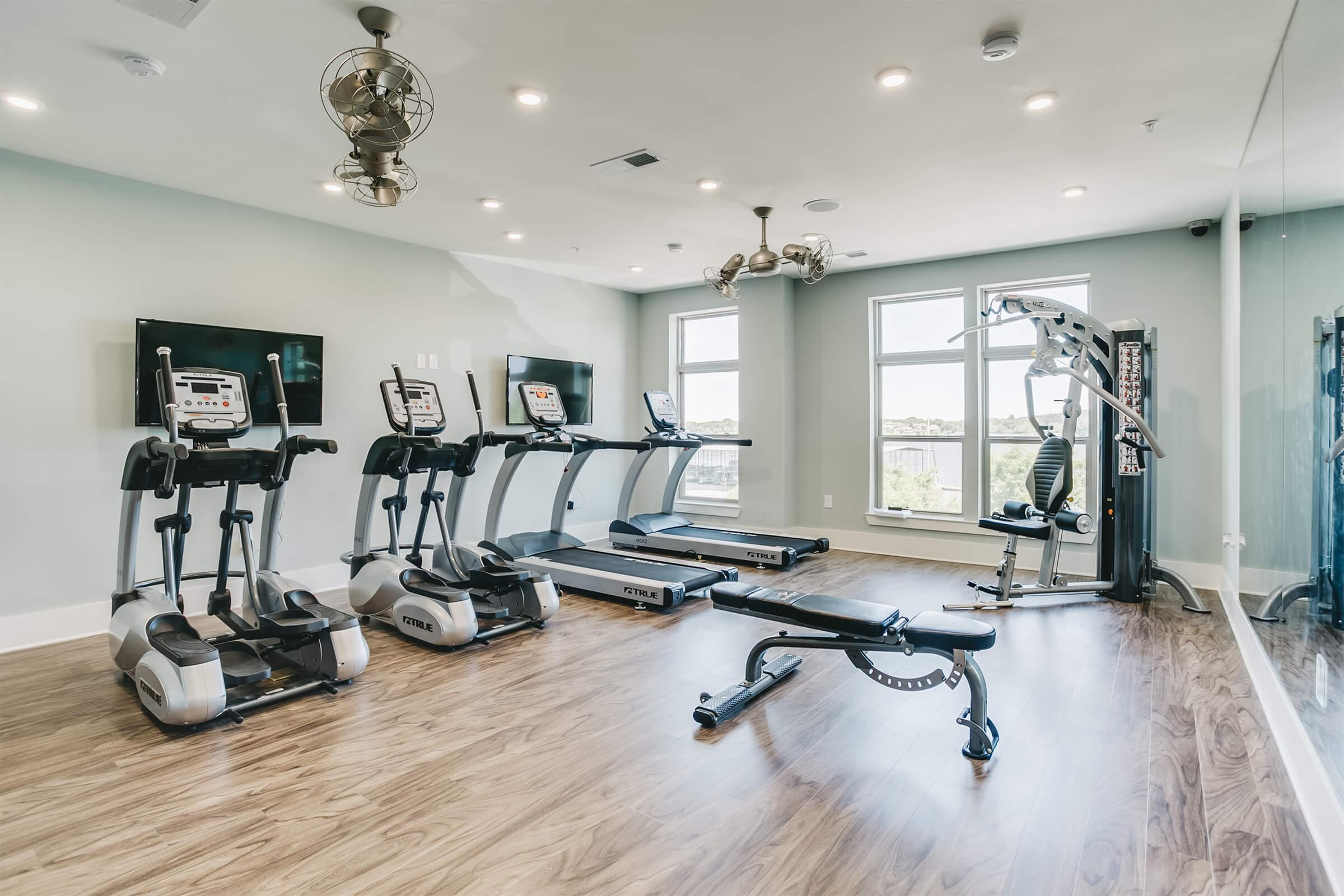 Keeping in shape is easy at The Residence at Old Hickory Lake